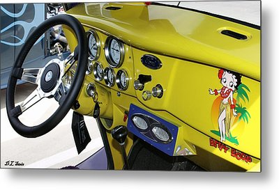 Classic Ford Metal Print by Dennis Stein