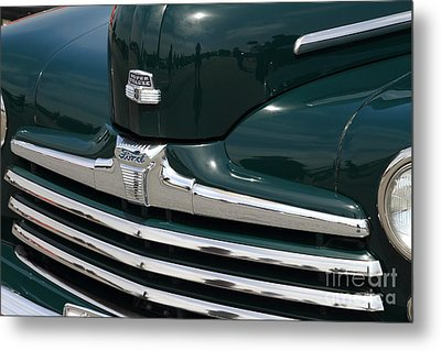 Classic Ford Super Deluxe 8 . 7d15265 Metal Print by Wingsdomain Art and Photography