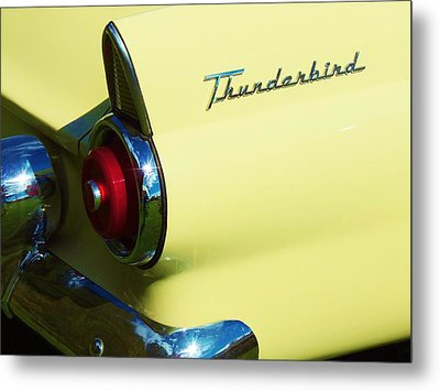 1955 Ford Thunderbird Metal Print