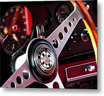 Classic Jaguar E Type 4.2 Metal Print