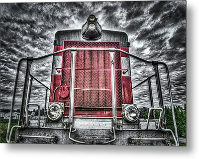Classic Locomotive Metal Print by Spencer McDonald