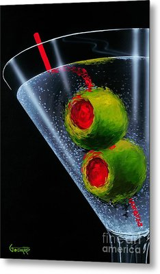 Classic Martini Metal Print by Michael Godard