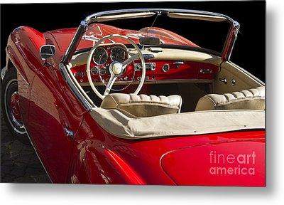 Classic Mercedes Benz 190 Sl 1960 Metal Print by Heiko Koehrer-Wagner