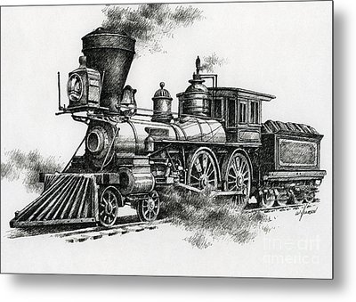 Classic Steam Metal Print by James Williamson