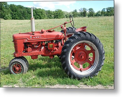Classic Tractor Metal Print by Richard Bryce and Family
