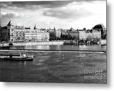 Metal Print featuring the photograph Classic Vltava River by John Rizzuto