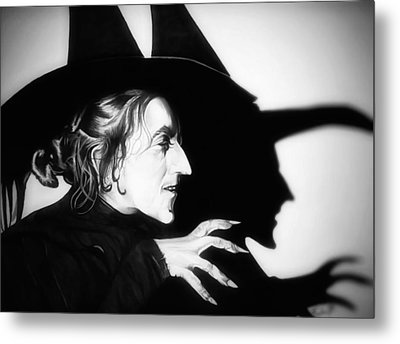 Classic Wicked Witch Of The West Metal Print