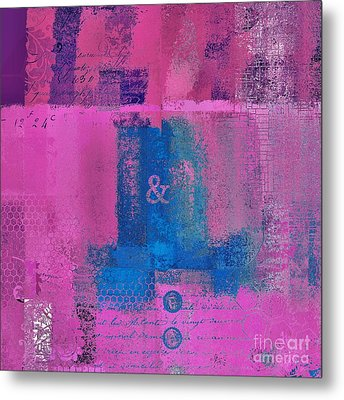 Metal Print featuring the digital art Classico - S0307d by Variance Collections