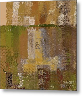 Metal Print featuring the digital art Classico - S0309b by Variance Collections