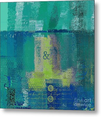 Metal Print featuring the digital art Classico - S03c04 by Variance Collections