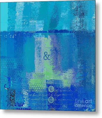 Metal Print featuring the digital art Classico - S03c06 by Variance Collections