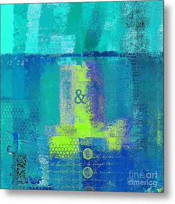 Metal Print featuring the digital art Classico - S03c26 by Variance Collections