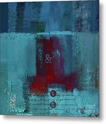 Metal Print featuring the digital art Classico - S03b by Variance Collections