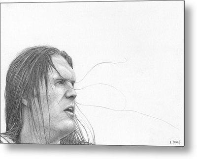 Clay Matthews Metal Print by Rick Yanke