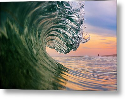 Clean Wave Metal Print by Ryan Moore