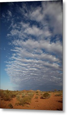 Clear Sky To Clouds Metal Print by Lee Stickels
