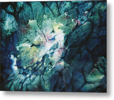Clear Streams Metal Print by Shirley McMahon