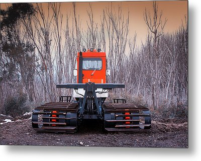 Metal Print featuring the photograph Clear The Way by Tim Nichols