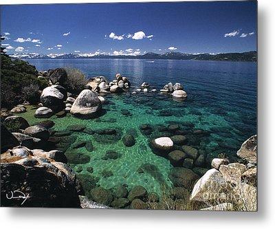 Clear Water Lake Tahoe Metal Print by Vance Fox