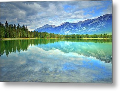 Metal Print featuring the photograph Clear Waters At Lake Annette by Tara Turner