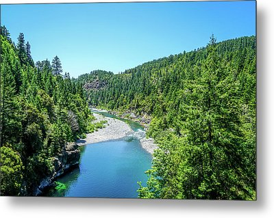 Clear Waters Metal Print by Ric Schafer