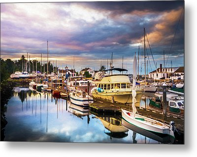 Clearing Storm Over The Pacific Ocean Metal Print