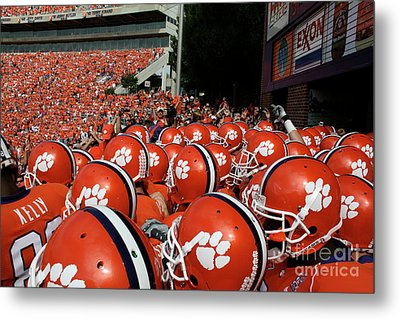Clemson Tigers Metal Print by Taylor C Jackson