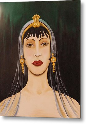 Cleo Metal Print by Leah Saulnier The Painting Maniac