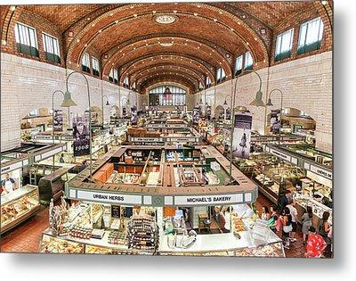 Cleveland Westside Market  Metal Print