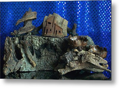 Cliff Dwelling Metal Print by Carolyn Cable