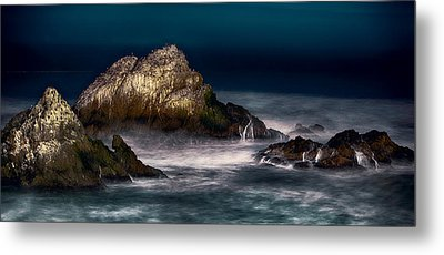 Metal Print featuring the photograph Cliff House San Francisco Seal Rock by Steve Siri