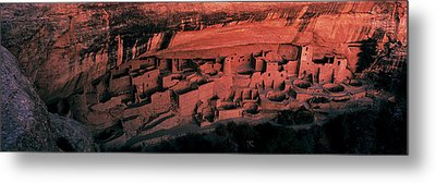 Cliff Palace Mesa Verde National Park Metal Print by Panoramic Images