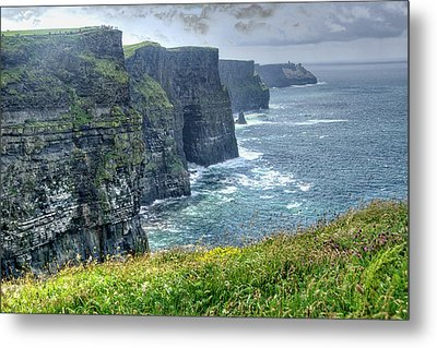 Metal Print featuring the photograph Cliffs Of Moher by Alan Toepfer