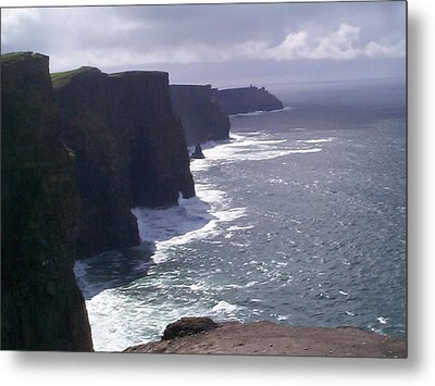 Cliffs Of Moher Metal Print by Charles Kraus