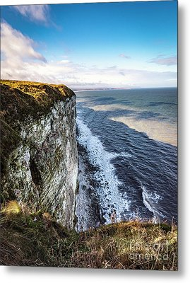 Metal Print featuring the photograph Cliffside View by Anthony Baatz