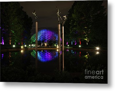Climatron 2017 Metal Print by Andrea Silies