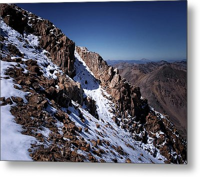 Metal Print featuring the photograph Climb That Mountain by Jim Hill