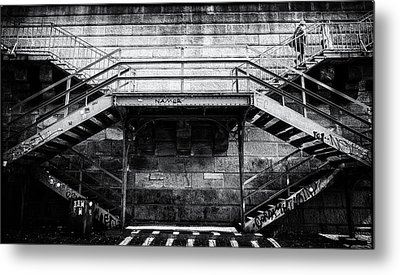 Climb The Stairs Metal Print
