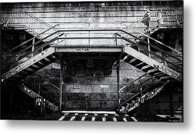 Climb The Stairs Metal Print by M G Whittingham