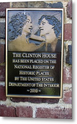 Clinton House Museum 2 Metal Print by Randall Weidner