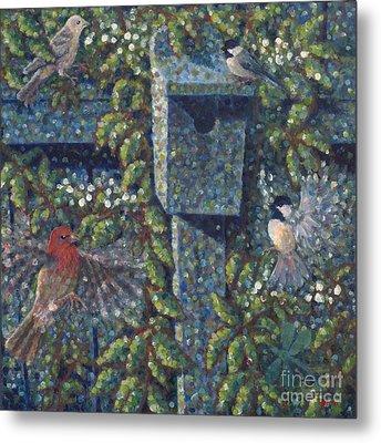 Clintonville Birdhouse Metal Print