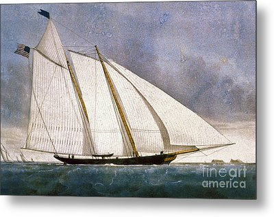 Clipper Yacht America Metal Print by Granger
