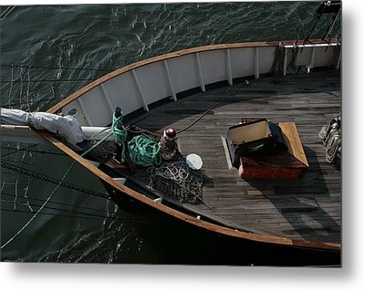 Clipper's Bow Metal Print by Christopher Kirby