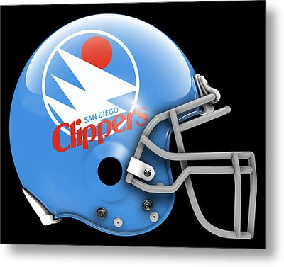 Clippers What If Its Football Metal Print by Joe Hamilton