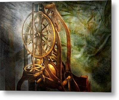 Clockmaker - The Day Time Stood Still  Metal Print by Mike Savad