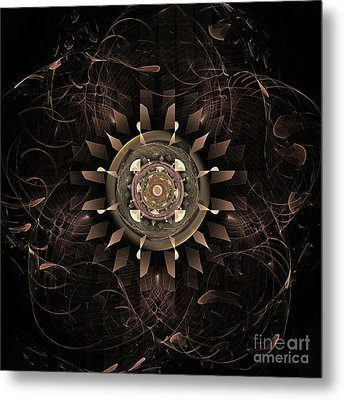 Clockwork Metal Print by John Edwards
