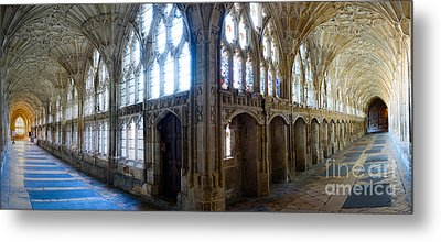 Cloisters, Gloucester Cathedral Metal Print by Colin Rayner