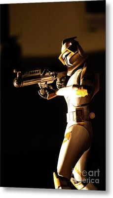 Metal Print featuring the photograph Clone Trooper 7 by Micah May