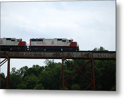 Close And Personal Metal Print by Cheryl Helms