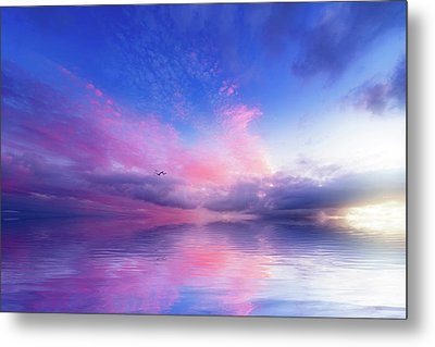 Close To Infinity Metal Print by Philippe Sainte-Laudy